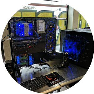 Professional Computer Services sells gaming computer systems