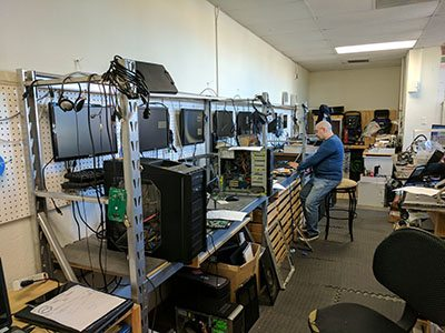 Professional Computer Services has an onsite computer workshop in Roseville, Ca
