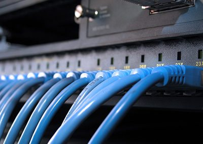 Network Cables Row